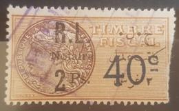 NO11 - Lebanon 1926 Notarial Revenue Stamp 2 Ps - Lebanon