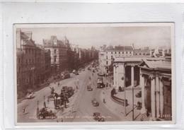 COLLEGE GREEN AND BANK OF IRELAND, DUBLIN. VALENTINE'S CARD. CIRCA 1930s -BLEUP - Dublin