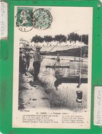 LUNEL PESQUA LUNA ( Peche Pêcheurs ) - Lunel