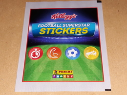 Football Superstar KELLOGGS Stickers Bustina Con Figurine Panini - Panini