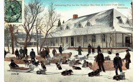 Carte  Postale Ancienne De MANITOBA  -  Lower Fort Garry - Manitoba