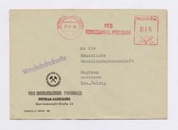 DDR AFS - POTSDAM-BABELSBERG, VEB Kohlehandel Potsdam Auf WDS Firmenbrief Von 1960 - DDR