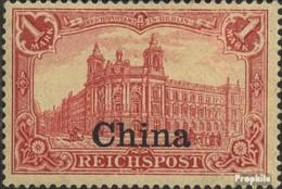 Dt. Post China 24 Gestempelt 1901 Aufdruckausgabe - Bureau: Chine