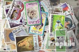 Ras Al Chaima Briefmarken-200 Verschiedene Marken - Briefmarken