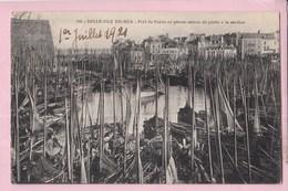 56 BELLE ILE EN MER Port De Palais En Pleine Saison De Pêche à La Sardine - Belle Ile En Mer