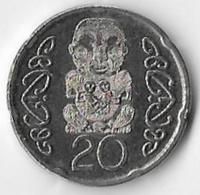 New Zealand 2014 20 Cents [C686/2D] - Nouvelle-Zélande