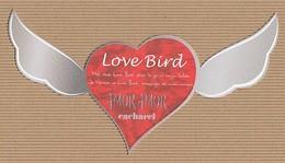 CC Carte 'CACHAREL' 'AMOR LOVE BIRD' Perfume Card 2 LANGUES 1 EX.! - Cartes Parfumées