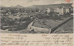 X118194 PAIS VASCO VIZCAYA BILBAO VISTA DESDE EL MORRO PRECURSOR ANTES DE 1904 - Vizcaya (Bilbao)