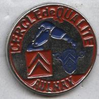 Pin's Voiture Automobile Citroën Aulnay Cercle De Qualité - Citroën