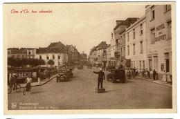 Blankenberghe Boulevard De Smet De Nayer - Offerte Par Côte D'Or, Bon Chocolat - Très Animée - Hôtel Du Buffet - 2 Scans - Blankenberge