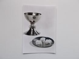 Devotieprentje: Plechtige Communie &Vormsel, Alfons MEIRLAEN , St.Tillo Instituut Brugge 29 April 1972 - Communion