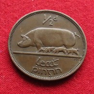 Ireland 1/2 Penny 1942 KM# 10  Irlanda Irlande Ierland Eire - Irlande