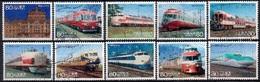 Japan 2013 - Japanese Railways (Regular Version) - Used Stamps