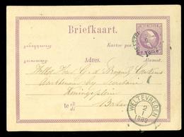 NED-INDIE * HANDGESCHREVEN  BRIEFKAART Uit 1882 Gelopen Van MEESTER CORNELIS Naar BATAVIA   (11.454a) - Indes Néerlandaises