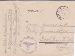 German Feldpost WW2: From Poland - 4. Kompanie Wach-Bataillon 652 FP 38674 Abholamt Radom über Kattowitz II - Militaria