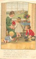 Kinderkaart Van Pauli Ebner   (het Raster Is Veroorzaakt Door Het Scannen; De Afbeelding Is Helder) - Speelgoed & Spelen