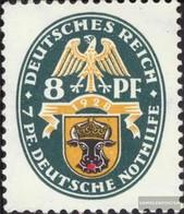 Deutsches Reich 426Y Con Fold 1928 Emergenza:Crest - Ongebruikt
