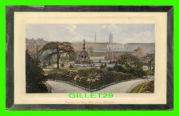 GLASGOW, SCOTLAND - FOUNTAIN IN WEST END PARK -  D & S. K. - IDEAL SERIES - - Lanarkshire / Glasgow