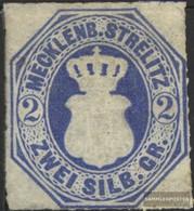 Mecklenburg-Strelitz 5 Non Usato 1864 Crest - Mecklenbourg-Strelitz