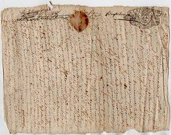 VP13.278 - Cachet Généralité De LIMOGES - Acte De 1732 - RUELLE SUR TOUVRE à Déchiffrer - Seals Of Generality