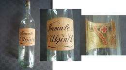 ABSINTHE / Bouteille Originale Et Unique. - Autres Bouteilles