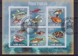 2009 - Guiné Bissau - Marine Animals / Fishes - Used - Fische