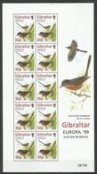 GIBRALTAR - MNH - Europa-CEPT - Animals - Birds - 1999 - Europa-CEPT