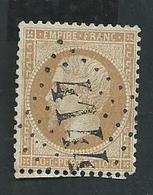 Napoléon No 21 Oblitération GC 4144 De Vergèze (Gard) Superbe - 1862 Napoleon III