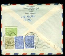 Saoedi-Arabië * Saudi Arabia * BRIEFOMSLAG Uit 1959 By Air Mail Van RYAD Naar DEN HAAG NEDERLAND   (11.454e) - Saudi Arabia