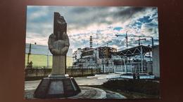 UKRAINE Chernobyl Nuclear Power Plant Or Chornobyl Nuclear Power Station. Aerial View - Ukraine