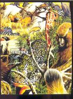 ERITREA   370 MINT NEVER HINGED MINI SHEET OF WILDLIFE & ANIMALS ; - Fantasy Labels