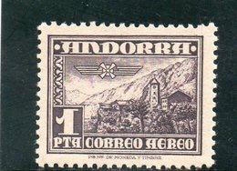 ANDORRE ESP. 1951 * - Andorra Spagnola