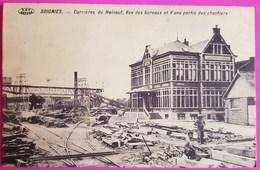 Cpa Soignies Carrières Du Hainaut Vue Des Bureaux Et D'une Partie Des Chantiers 1912 Carte Postale Belgique Rare - Soignies