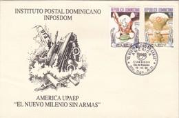 EL NUEVO MILENIO SIN ARMAS, INPOSDOM-FDC REPUBLICA DOMINICANA, STO DOMINGO 1999-BLEUP - Dominicaanse Republiek