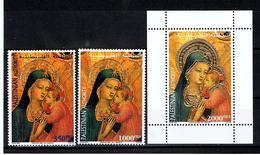 Palestine / Noël 2000 /  Série Complète ** / Yvert N° 145-150 + BF 18 - Palestine