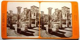 TEMPLO D'ISIDE - POMPEI - Photos Stéréoscopiques