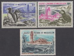 SAINT PIERRE ET MIQUELON - Phares 1975 - St.Pierre & Miquelon
