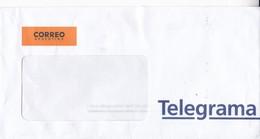 ENVELOPPE SOBRE CORREO ARGENTINO TELEGRAMA CIRCA 2010s -BLEUP - Telegraph