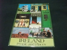 IRLANDA IRELAND PEOPLE AND PLACES BAR  B INSEGNA GUINNES E ALTRE VEDUTE - Irlanda