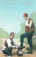 TURQUIE CONSTANTINOPLE  DECROTTEUR - Turkey