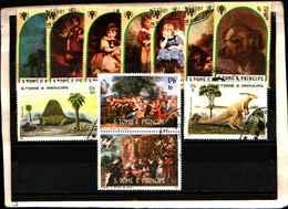 73370)-LOTTO FRANCOBOLLI  DI S. TOMè E PRINCE.-USATI - - Sao Tomé E Principe