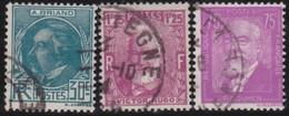 France  .      Yvert    .      291/293          .     O         .         Oblitéré - Oblitérés