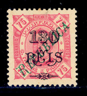 ! ! St. Thomas - 1920 D. Carlos Local Republica 130 R - Af. 244 - NGAI - St. Thomas & Prince