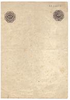 Maroc. Timbre Fiscal, De Quittance De 80 + 80 Francssur Sur Papier Format A4. Papier Timbré. - Timbres-taxe