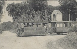 Bruxelles ? Arlon ? Tramway. Cachet Arlon-Bruxelles (Brussel)2 26 Juillet 1914 - Transport Urbain En Surface