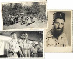 PHOTO MILITAIRE LEGIONNAIRE 3 CARTE PHOTOS  LOT N0 3 - War, Military
