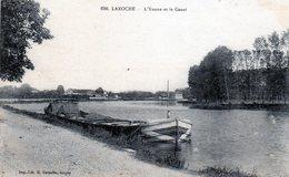 89 - LAROCHE - L'Yonne Et Le Canal - Laroche Saint Cydroine
