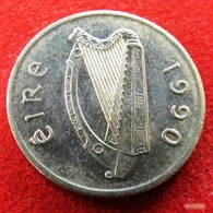 Ireland 5 Pence 1990  Irlanda Irlande Ierland Eire - Ireland
