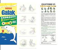 BE77 - DECALCOS WWF - CHOCOLAT GALAK - Nestlé