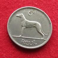 Ireland 6 Pence 1934 KM# 5  Irlanda Irlande Ierland Eire - Irlande